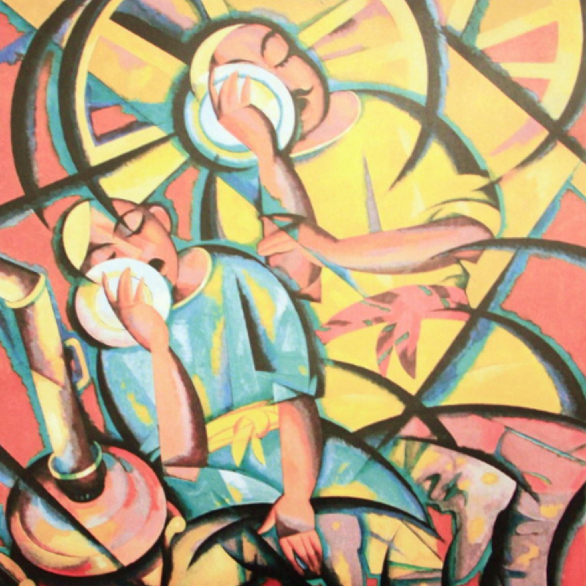 Юбилейная, ретроспективная выставка Джавлона Умарбекова