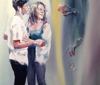 Выставка живописи Андрея Есионова «Войти в реку дважды»
