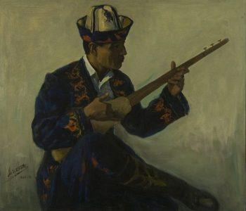 Выставка Абдулхака Абдуллаева, к 100-летию со дня рождения художника проходит в Ташкенте