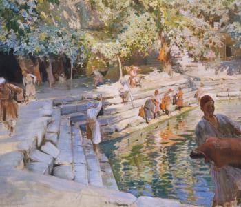 Вечера, посвящённые российскому и узбекскому художнику Павлу Бенькову